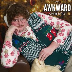 Twenty ridiculously awesome Christmas sweaters that will fit right in at your annual Ugly Sweater Party.: 20 of the Funniest Ugly Christmas Sweaters Ever Made Ugliest Christmas Sweater Ever, Funny Christmas Sweaters, Christmas Humor, Merry Christmas, Xmas Sweaters, Tacky Christmas, Funny Sweaters, Foto Fails, Photoshop Fails