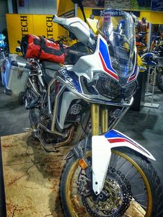 New Honda Africa Twin. Equipped by Touratech.