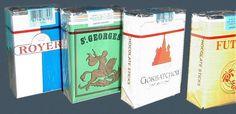 """Chocolate cigarettes - cigarettes en chocolat (je me souviens m'être fait eng... par un ouvrier travaillant sur un toit, qui me voyait """"fumer"""" en rue à 10 ans ! :-D )"""
