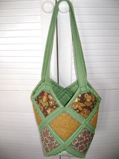 Diamond quilt bag