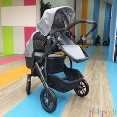 Good things come to those who wait, and we waited a LONG time for our very own UPPAbaby Vista 2015! We love it in Pascal - but it looks great in all 7 colors. Please remain calm and shop this stroller now!  http://www.pishposhbaby.com/uppababy-vista-2015.html