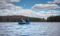 Canoeing on Cochran lake is a must do activity. Memories With Friends, Boathouse, Canoeing, Relax, Waves, Lifestyle, Country, Luxury, Nature