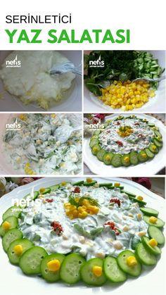 Serinletici Yaz Salatası #serinleticiyazsalatası #salatatarifleri #nefisyemektarifleri #yemektarifleri #tarifsunum #lezzetlitarifler #lezzet #sunum #sunumönemlidir #tarif #yemek #food #yummy