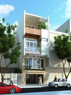Công ty TVTKXD Nhà đẹp Mới không ngừng nỗ lực sáng tạo, sưu tầm nhiều mẫu nhà phố đẹp 1 trệt 1 lầu, mẫu nhà phố 2 tầng, mẫu nhà phố đẹp 3 tầng...để đáp ứng yêu cầu về kiến trúc và phong thủy của gia chủ...