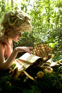 Wonderland - Behind the Scenes Photos - Kirsty Mitchell Photography
