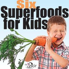 6 superfood snacks for kids -- we're totally into these brain-foods perfect for after-school snacks.  http://thestir.cafemom.com/food_party/125870/6_superfood_brainbuilding_snacks_for