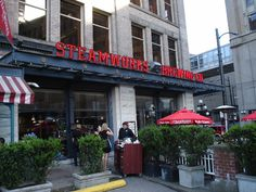 Steamworks produces some of the best microbrewed beers in the Vancouver area.