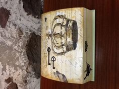 Decoupage French box