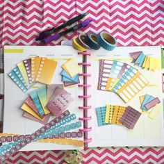 How to make homemade planner stickers! :D