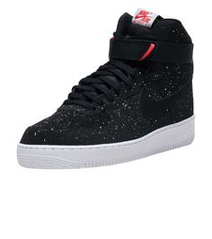 NIKE MENS AIR FORCE ONE HIGH SNEAKER Black Nike Air Force Ones 6d64ecd70