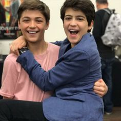 Asher Angel & Joshua Rush this is really funny
