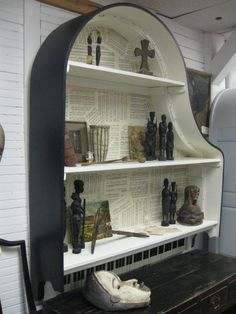 1930s Baby Grand Piano Book Shelf. $1,850.00, via Etsy.