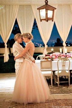 Ellen and Portia    <3 <3 so beautiful!