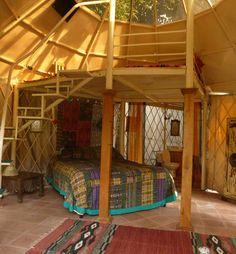 yurt interior - Google Search