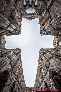 San Galgano Abbey - Chiusdino - Siena - Tuscany - Italy