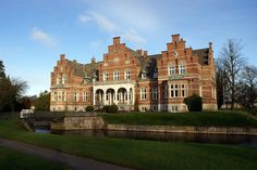 Lolland is the fourth largest island of #Denmark - Fuglsang, a mansion on the Danish island Lolland