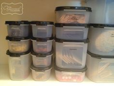 I love this list!! Just started to sell Tupperware & I ran into the same Dilemma of what size could be used for what: A guide to sizes of Tupperware Modular Mate containers for the pantry | The Organised Housewife