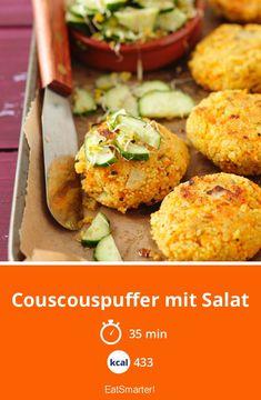 Couscouspuffer mit Salat - smarter - Kalorien: 433 kcal - Zeit: 35 Min. | eatsmarter.de