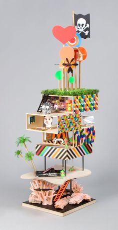 A Dolls' House Project: Contemporary Architecture To Play With | http://www.yatzer.com/adollshouse // MORAG MYERSCOUGH AND LUKE MORGAN.