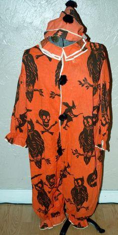 Antique Halloween Costume.