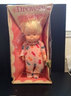 Vintage 1964 Mattel Talking DROWSY DOLL NRFB New VERY RARE ABSOLUTELY MUST SEE!! | eBay Item sold in Ceres, California