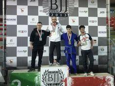 Dai-Ki Dojo Ju Jitsu Academy at Italian BJJOpen 2013 Roma: Maestro Carmelo Guglielmino gold medal blue belts adult -64. Brazilian Jiu Jitsu.