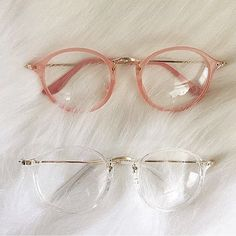 Buy Clear Round Glasses Eyeglasses Women Transparent Frame Retro Speactacles Optical Frames Clear Lens Glasses at Wish - Shopping Made Fun Cute Glasses, New Glasses, Cool Glasses Frames, Transparent Glasses Frames, Glasses Shop, Eyeglasses For Women, Sunglasses Women, Sunglasses Sale, Clear Round Glasses
