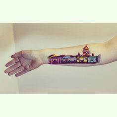 17 tatuadores que farão você querer ir à Rússia