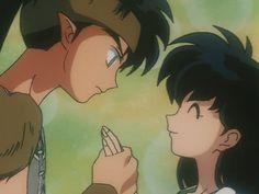 I love when inuyasha acts all jealous. So cute. I always loved Koga Inuyasha E Kagome, Amor Inuyasha, Kagome And Inuyasha, Inuyasha Funny, Kagome Higurashi, Gato Anime, Manga Anime, Anime Boys, I Love Anime