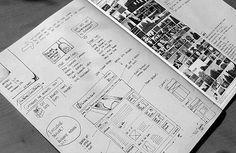 web page layout design sketch
