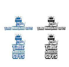 Time Machine Toys logo by SilverFox Design