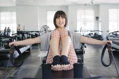 Pilates Plus in my Trina Turk Recreation!