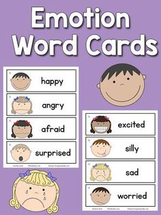 Body Parts Picture-Word Cards Free Parts of the Body Picture Word Cards for Preschool and Kindergarten.Parts of the Body Picture Word Cards I don't have any cards/posters with pictures of body parts. My students would be able to identify their body parts Emotions Preschool, Teaching Emotions, Emotions Activities, Social Emotional Learning, Preschool Lessons, Preschool Learning, In Kindergarten, Learning Activities, Preschool Word Walls