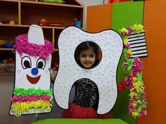 When you are teaching kids about all the important things in life one of the important things to teach them is good dental care. Health Activities, Educational Activities, Preschool Activities, Body Preschool, Preschool Crafts, Kids Health, Dental Health, Art For Kids, Crafts For Kids