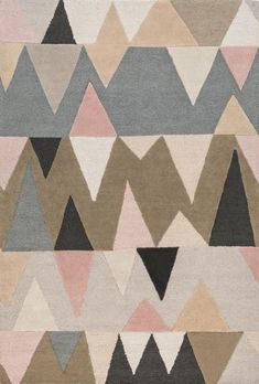 Nordic-inspired, funky geometric rug from Surya's new Kennedy collection! (KDY-3015)