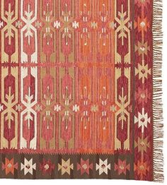 Pottery Barn Surrey Indoor/Outdoor kilim rug 5 x 8 Brand New 50% off Authentic #PotteryBarn
