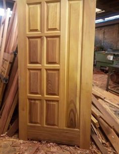 Flush Door Design, Home Door Design, Temple Design For Home, Bedroom Door Design, Door Design Interior, Single Main Door Designs, Wooden Front Door Design, Wooden Doors, House Balcony Design