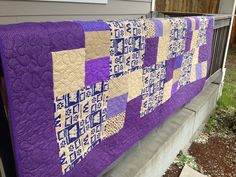 Awesome UW quilt
