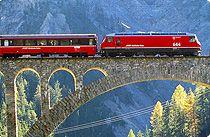Scenic Bernina Express, Switzerland with the EuroPass after graduation... I think YES