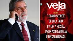 """O jornalista Cláudio Humberto, do Diário do Poder, denunciou mais uma vez: """"Lula vai vazar. Ele vai fugir"""" De acordo com Humberto, petistas próximos ao ex-presidente já jogaram a toalha e foram unâ..."""