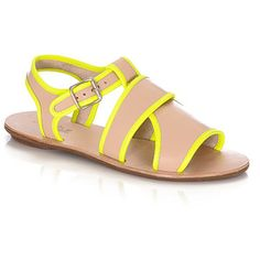Loeffler Randall Selima plank sandal