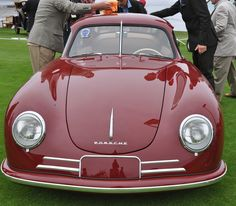 356 Porsche Pre-A Split Windshield @PebbleConcours