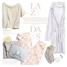 """""""Just another lazy Sunday"""" by purpleagony ❤ liked on Polyvore featuring H&M, Toast, Theory and Humör"""