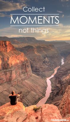 Vielen Dank @travelbook. Sammel Momente, keine Sachen. #Fotografie # Fotozitat