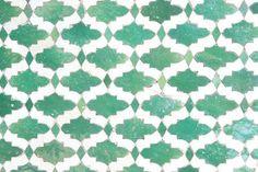beautiful green tiles