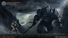 Dark Souls  Pixel Artist: Dave Rapoza Source: daverapoza.blogspot.com