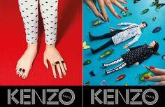 Kenzo Fall 2013 Campaign   #fashion #fashionnews #kenzo