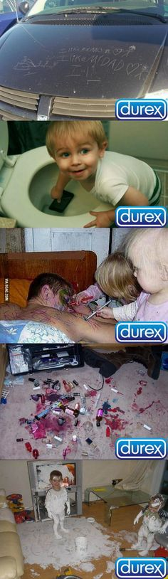 Funny Pictures of the week pics- Durex Commercial (Compilation). Oh my god.