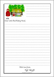 Wolf sorry letter writing frames (Little Red Riding Hood) - SparkleBox Fairy Tale Activities, Eyfs Activities, Writing Activities, Traditional Stories, Traditional Tales, Sorry Letter, Red Riding Hood Wolf, Letter Writing Template, Fairy Tales Unit
