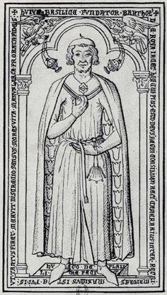 Barthélemi de Roye (1221)Joyenval Abbey, Chambourcy, Yvelines, France